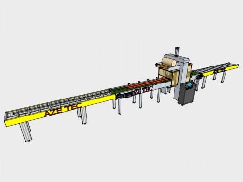Embaladora automática para perfil de alumínio